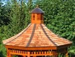 Copper Roof Cupola