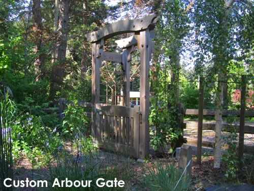 Custom Arbour Gate