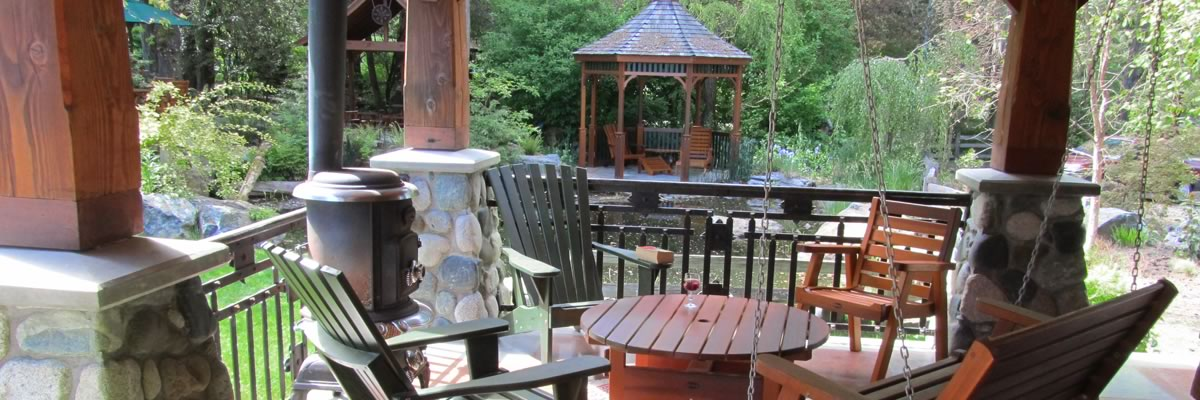Classic Cedar Garden and Patio Furniture
