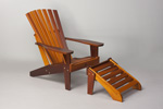 Cape Cod Chair with cape cod ottoman