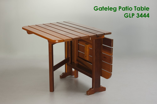 Gateleg Patio Table Outdoor