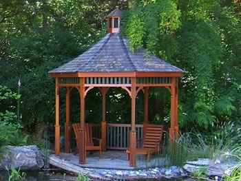 gazebos and garden structures