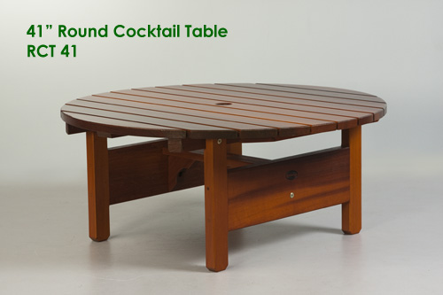 "41"" Round Cocktail Table"